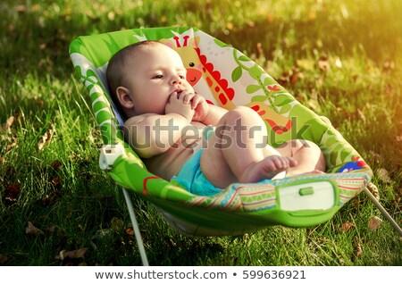 Bujane dziecko stałego starych ognisko Zdjęcia stock © backyardproductions