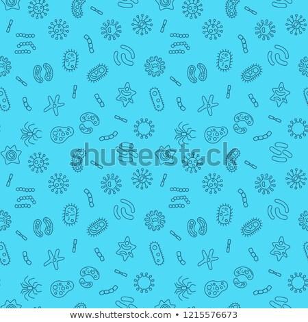 бактерии · вирус · аннотация · медицинской · природы - Сток-фото © bluering