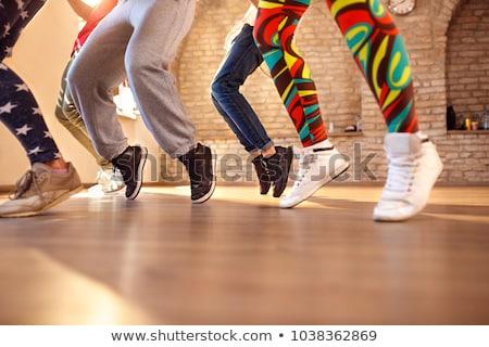 女性 ダンス ヒップホップ フィットネス ベージュ スタジオ ストックフォト © master1305