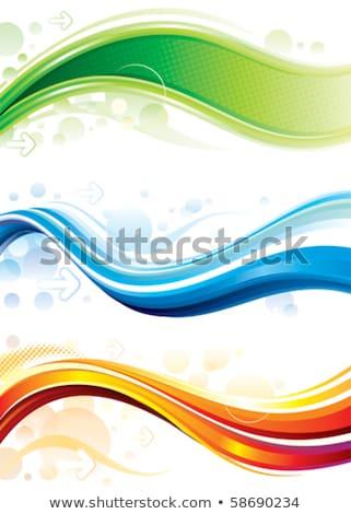 Résumé web bannière design tourbillon effet Photo stock © SArts