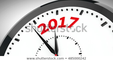 Goals For 2017 - Wording on Watch. 3D. Stock photo © tashatuvango