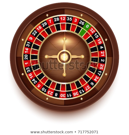 Disc Roulette for Casino Games view from above stock photo © orensila