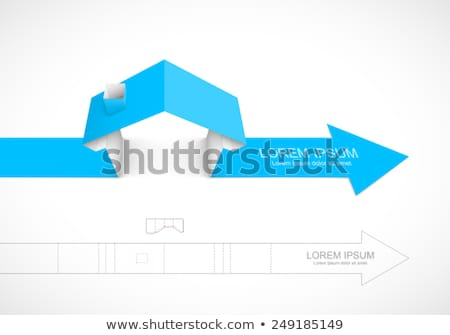 Changes - Label on the Blue Arrow. 3D. Stock photo © tashatuvango