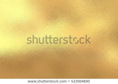 Lucido giallo foglia oro texture muro Foto d'archivio © scenery1