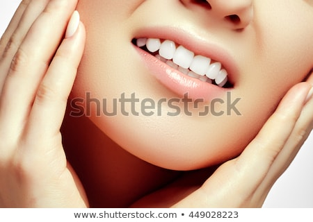 Lip Gloss For Perfect Smile  Stock photo © MilanMarkovic78