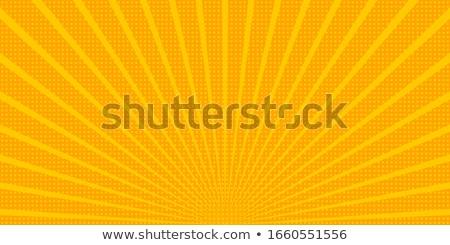 Citromsárga képregény zoom vonalak textúra könyv Stock fotó © SArts