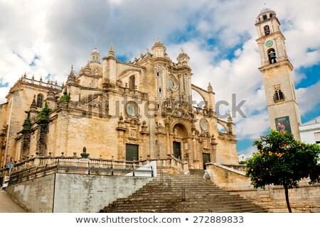 Cathedral de Cadiz Stock photo © benkrut