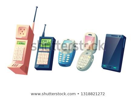 коллекция телефон набор большой мобильного телефона Сток-фото © robuart