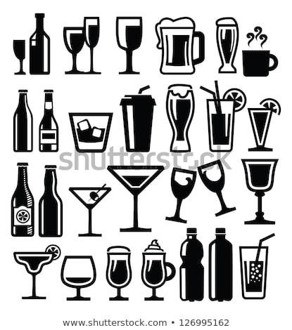 whisky · etykiety · butelki · ilustracja · vintage · projektu - zdjęcia stock © blaskorizov