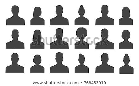 human heads, avatar profiles Stock photo © ratkom