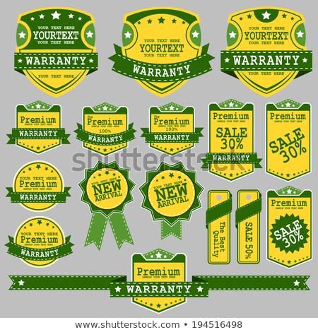 Farbe Jahrgang Sport Waren Emblem Stock foto © netkov1
