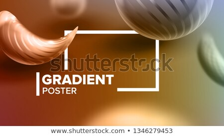 Abstract Background Liquid Fluid Vector. Cosmetic Magazine. Chemistry Shapes. Party Light. Ink Futur Stock photo © pikepicture