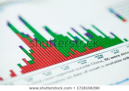 Infographics and Charts with Curves, Data Analysis stock photo © robuart