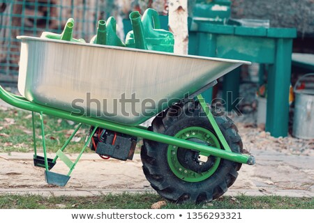 electrify powered motorized garden wheelbarrow Stock photo © artush