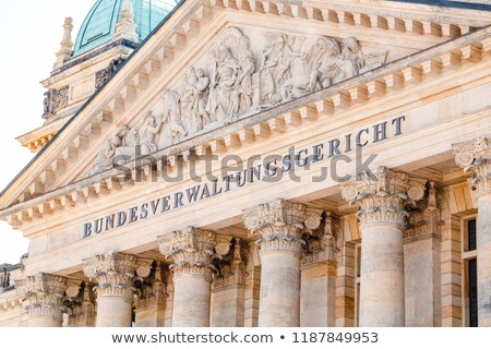 Federal Administrative Court in Leipzig Stock photo © benkrut