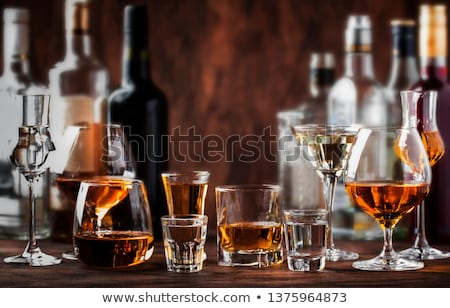 Assortment of alcoholic drinks Stock photo © Alex9500