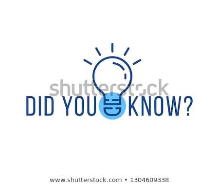 Interessante fato projeto abstrato fundo pergunta Foto stock © SArts