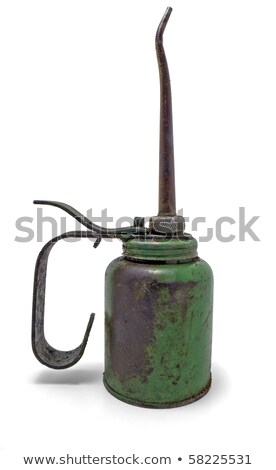 Antigue rusty old oil can  Stock photo © premiere