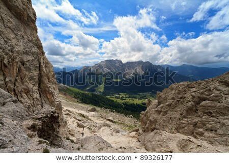 Vadi yaz görmek doğa dağ Stok fotoğraf © Antonio-S