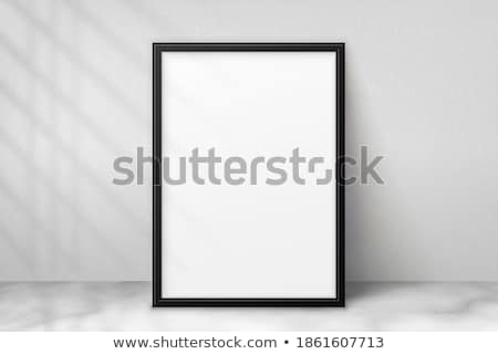 photoframe on wall stock photo © stokato