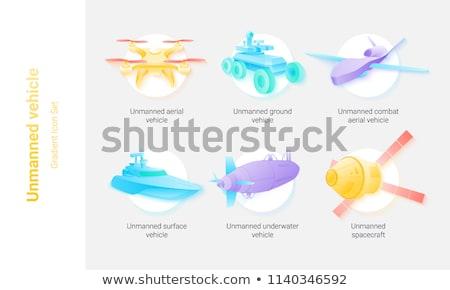 különböző · jövő · ikonok · vektor · ikon · gyűjtemény · technológia - stock fotó © stoyanh