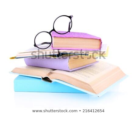kitaplar · kitap · ofis · dizayn - stok fotoğraf © pinkblue