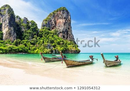 Turquoise lagoon in Thailand Stock photo © 3523studio