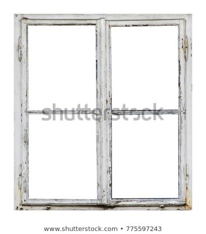 single wood old window stock photo © witthaya