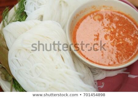 тайский · продовольствие · ресторан · азиатских · Sweet - Сток-фото © hinnamsaisuy