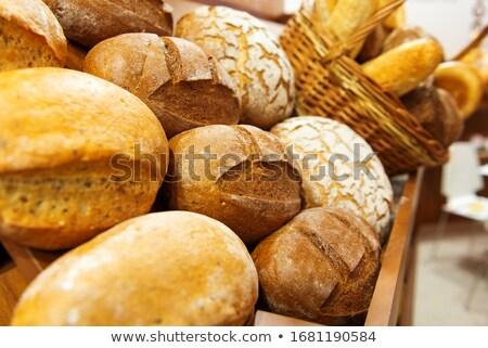 pan · panadería · productos · aislado · pan · blanco · blanco - foto stock © marylooo