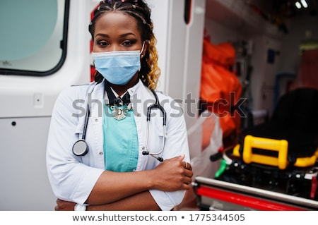 portret · chirurg · pielęgniarki · stałego · korytarz · szpitala - zdjęcia stock © photography33