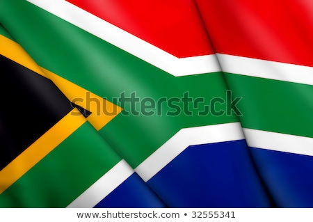 national flags of countries starting with south africa stock photo © experimental