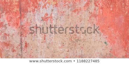 синий · окрашенный · стены · каменные - Сток-фото © hypnocreative