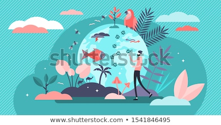 Endangered planet Stock photo © ErickN