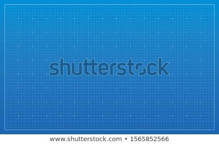architectural background vector blueprint stock photo © krabata
