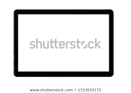 Tablet PC Isolated on White Background Stock photo © fotoscool