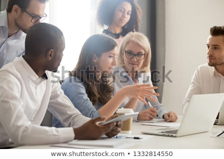 Business Group Leader Stock photo © Lightsource