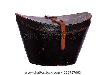 Old Hat Box Stock fotó © pterwort