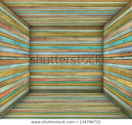 3d timber wood multiple color plank square empty space Stock photo © Melvin07