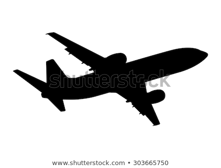 Planes in silhouettes Stock photo © koqcreative