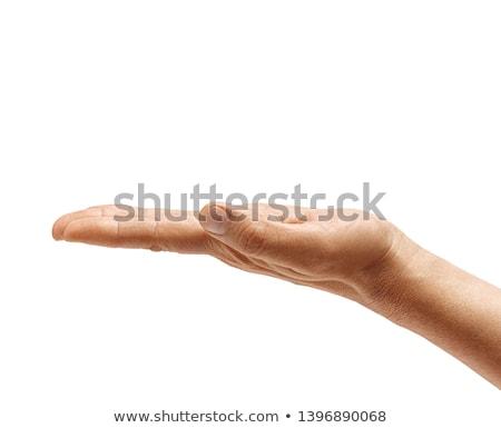 Mains gens d'affaires enveloppe blanche Photo stock © wavebreak_media