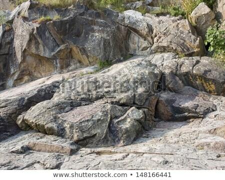 Formation rocheuse saint abbaye détail coloré baisser Photo stock © prill