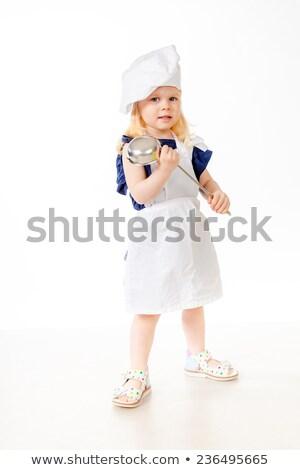 美少女 立って 衣装 手 ファッション 美 ストックフォト © PlusProduction