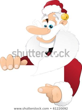 traditionnel · Noël · pointant - photo stock © jorgenmac