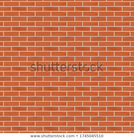 terracotta brick wall seamless tileable texture stock photo © tashatuvango