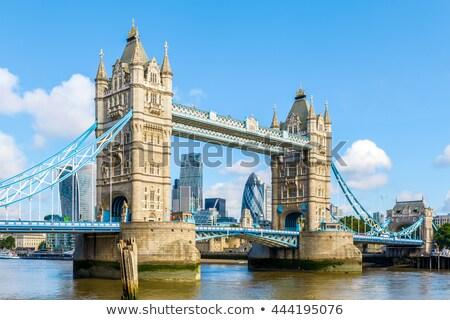 Londra şehir thames nehir güneşli Stok fotoğraf © trgowanlock