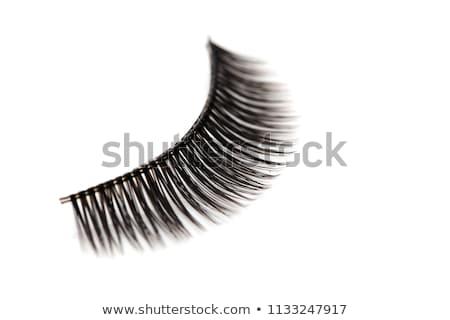 False lashes isolated on white Stock photo © gsermek