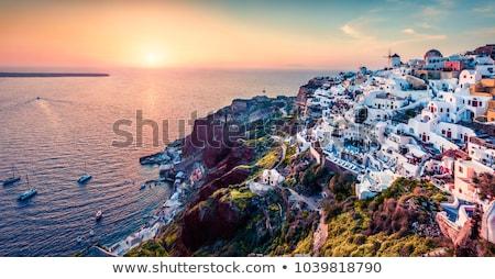 impressionante · mosteiro · manhã · luz · central · ver - foto stock © jonnysek