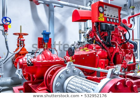 fire fighting pump stock photo © smuay
