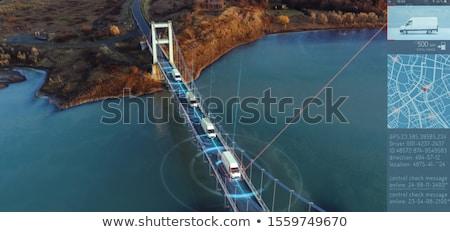 トラック 異なる 列車 鋼 輸送 ストックフォト © armin_burkhardt